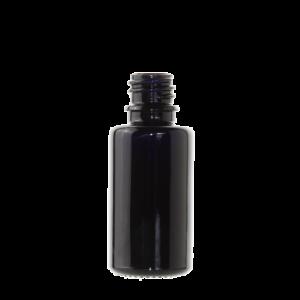 Tropfflaschen schwarz/violet