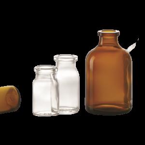 Injektionsflaschen aus Hüttenglas
