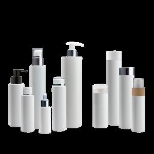 Kosmetikflaschen-Plastik